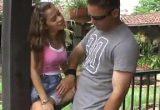 Novinha brasileira fazendo sexo com gringo