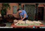 Vídeo com loira adorando massagem de putaria gozando