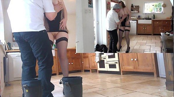 Esposa exibicionista sendo fodida com força