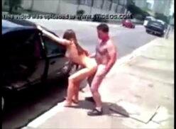 Flagrante sexo na rua