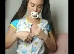 Mulher bombada nua