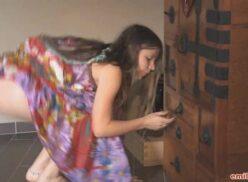 Vestido indiano hippie