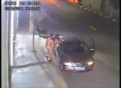 Brazilian couple breaking the law