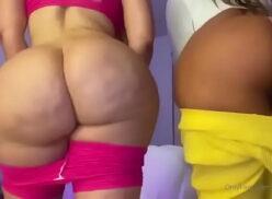 Culonas y tetonas lesbianas