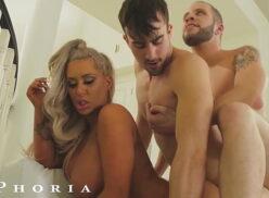 Gay Pornstar Fucks Stepbrother's Wife To Practice Straight Sex – BiPhoria