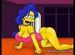 Marge simpson sex comic