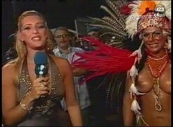 Brasileirinha no carnaval
