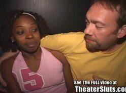 Ebony skirt porn