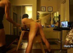 Ebony spanking xxx
