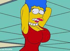 Marge simpson hentei