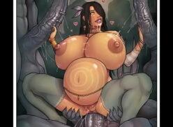 Nude anime comics