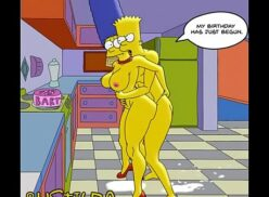 Simpsons porn comics marge and bart