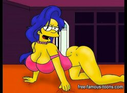 The simpsons porn marge and bart
